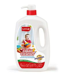 LuvLap Liquid Cleanser For Feeding Bottles 1000 ml - 18180