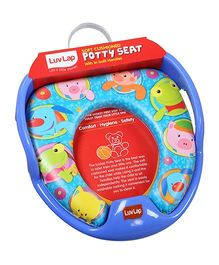 Luv Lap Bubble Buddy Cushioned Potty Seat Blue - 18195