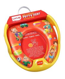 Luv Lap Happy Days Cushioned Potty Seat Orange - 18196