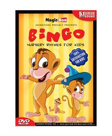 Bingo Nursery Rhymes Volume 3 DVD - English