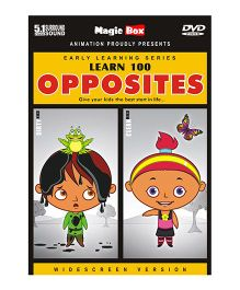 Learn 100 Opposites DVD - English