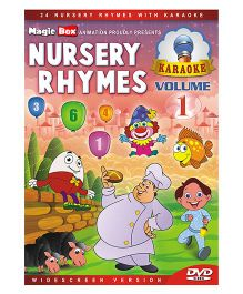 Nursery Rhymes With Karaoke Volume 1 DVD - English