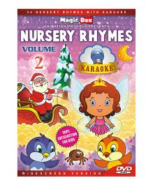 Nursery Rhymes With Karaoke Volume 2 DVD - English
