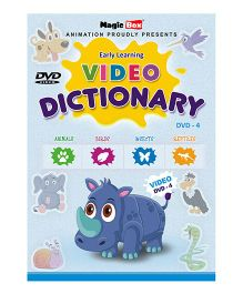 Preschool Video Dictionary DVD 4 - English