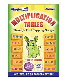 Multiplication Tables VCD - English