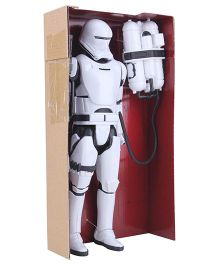 Funskool Star Wars Flame Trooper Figure - White