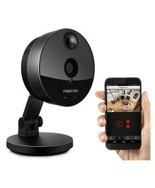 Foscam C1 Indoor HD 720P Wireless Plug And Play IP Camera - Black