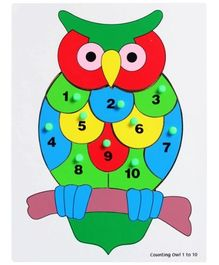 Little Genius - Wooden Counting Owl 1-10