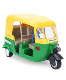 Speedage Junior CNG Auto Pull Back Rikshaw (Color May Vary)