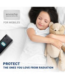 Envirochip Radiation Protector Chip For Mobile Phone - White