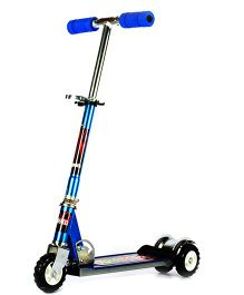 Flyers Bay Ultra Durable Big Wheel Scooter -Blue