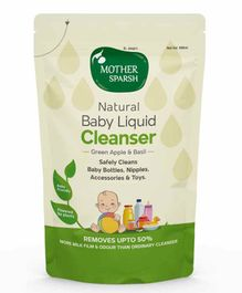 Mother Sparsh Natural Baby Liquid Cleanser - 500 ml
