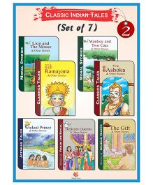 Classic Indian Tales Set 2 Pack Of 7 - English