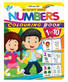 My Activity Numbers Coloring Book - English