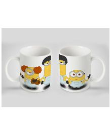 Stybuzz Ceramic Mug Minion Print Multicolor 300 ml FCMG00043 - Single Piece