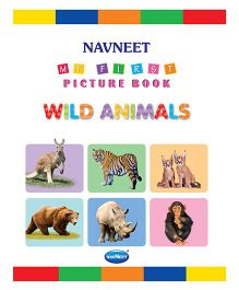 My First Picture Book Wild Animals - English