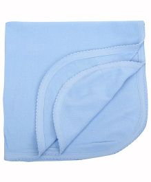 Tinycare Plain Bath Towel - Blue