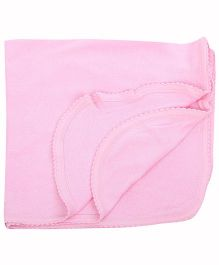 Tinycare Plain Bath Towel - Pink