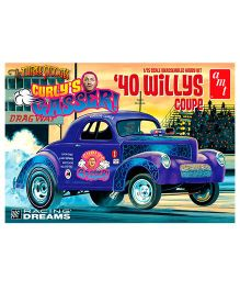 Amt 40 Willys Curly Gasser Coupe Model Kit
