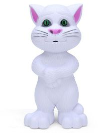 ToyMark Talking Tom White - Height 20 cm