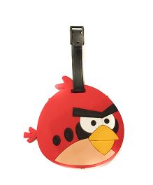 Funcart Angry Bird Luggage Tag - Red