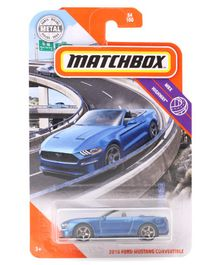 Matchbox Die Cast Free Wheel Ford Car - Blue