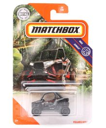 Matchbox Polaris RZR Die Cast Free Wheel Toy - Grey