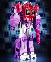 Transformers Bumblebee Cyberverse Adventures Shockwave Figure Purple Pink - Height 29 cm