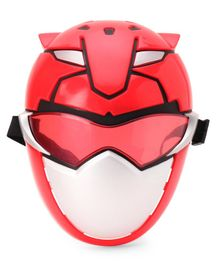 Power Rangers Beast Morphers Red Ranger Mask - Red