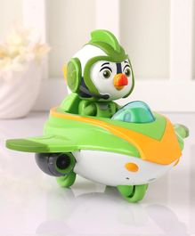 Top Wing Brody's Splash Wing Figure with Vehicle - Green Yellow