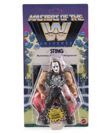 WWE Sting Mysterious Vegilante of Vengeance Action Figure Black - Height 14 cm