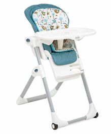 Joie 2 In 1 Baby High Chair Tropical Paradise Print - Multicolor
