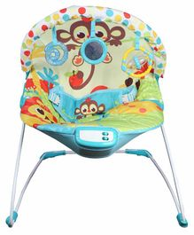 Mastela Musical Bouncer with Toy Bar - Multicolour