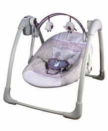 Mastela Deluxe Baby Swing with Music - Grey
