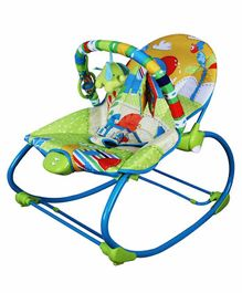 Mastela Musical Baby Rocker with Overhead Toy Arc - Multicolor