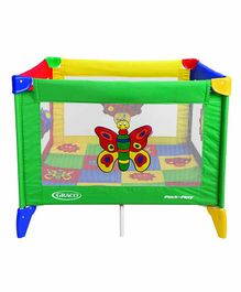 Graco Pack n Play Bugs Quilt Square - Multicolor