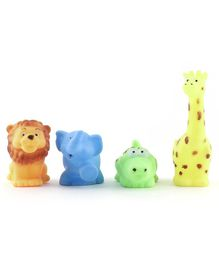 IToys Squeaky Bath Toy Animal Pack of 4 - Multi Colour
