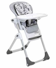 Joie 2 In 1 Baby High Chair Logan Print - Multicolor