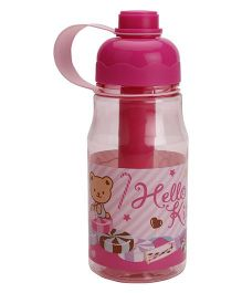 Hello Kitty Stick Water Bottle - Pink