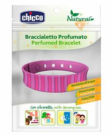 Chicco Silicone Perfumed Repellent Clip Bracelet - (Color May Vary)