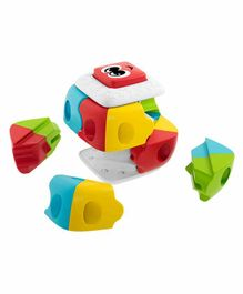 Chicco Brick Puzzle Multicolour - 8 Pieces