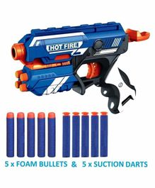 Yamama Blaze Storm Toy Gun - Blue Orange