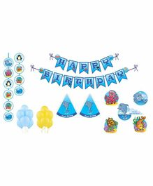 Untumble Underwater Theme Birthday Kit - Pack of 58