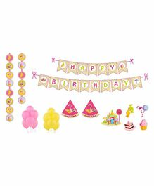 Untumble Candy Land Theme Birthday Kit - Pack of 58