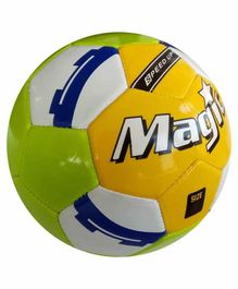 Speed Up Magic Football Size 3 - Yellow Green