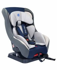 1st Step Car Seat with 5 Point Safety Harness - Navy Blue