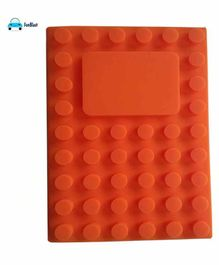 FunBlast Soft Silicone A5 Notebook Red - 80 Pages