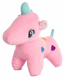 Deals India Unicorn Soft Toy Pink - Height 24 cm