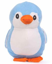 Deals India Penguin Soft Toy Blue White - Height 30 cm