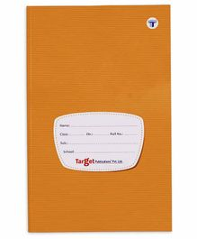 Target Publications Single Line Notebook - 172 Pages Each